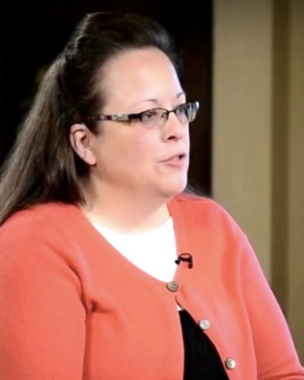 Kim Davis On Gay Marriage: I Was Obeying My Law (Video) Promo Image
