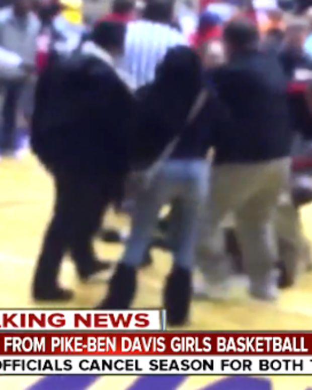 Ben Davis And Pike Girls Basketball Teams