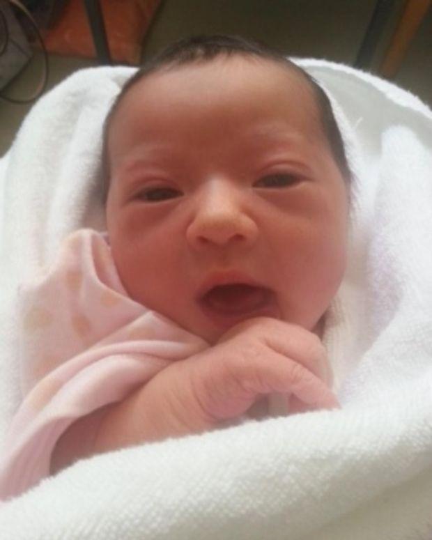 Baby Chloe.