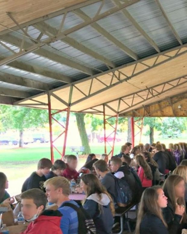 Parents Hold 'Jesus Lunches' At Wisconsin High School Promo Image