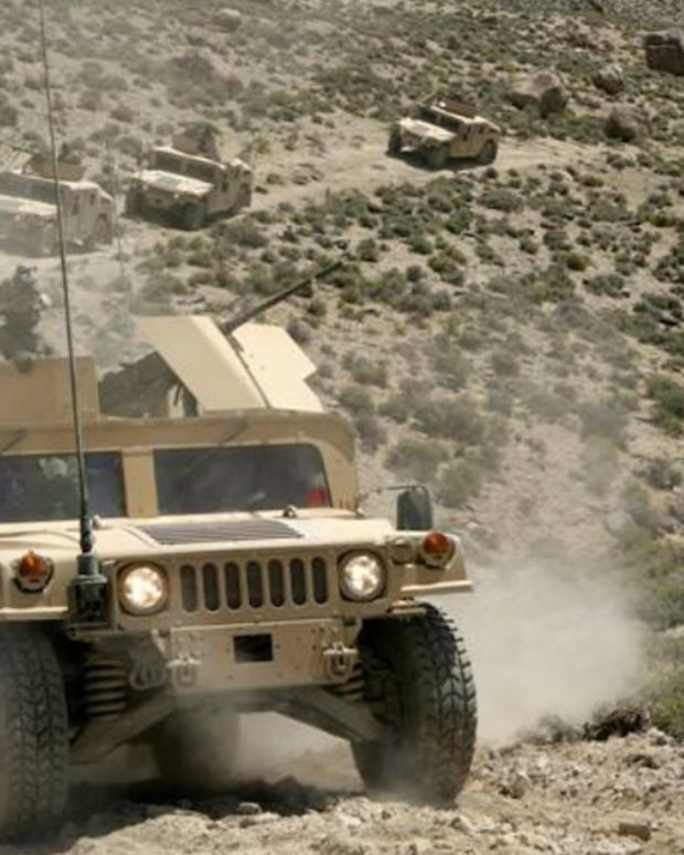 US Troops Roll Into Syria (Video) Promo Image