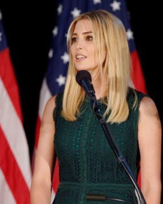 Ivanka Trump Ignores Dad, Makes Clothes In China Promo Image