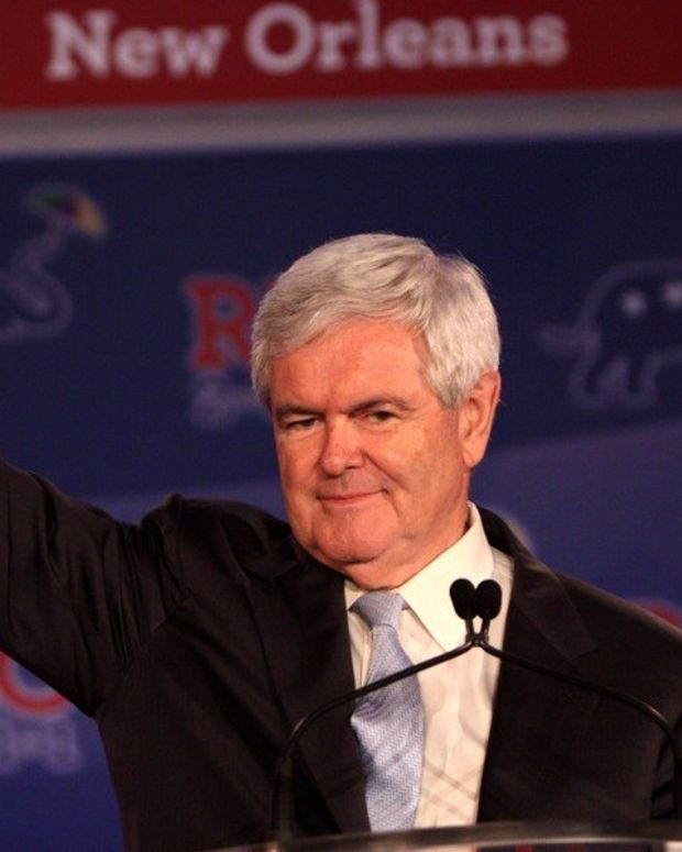 Gingrich Would Hurt Trump Promo Image