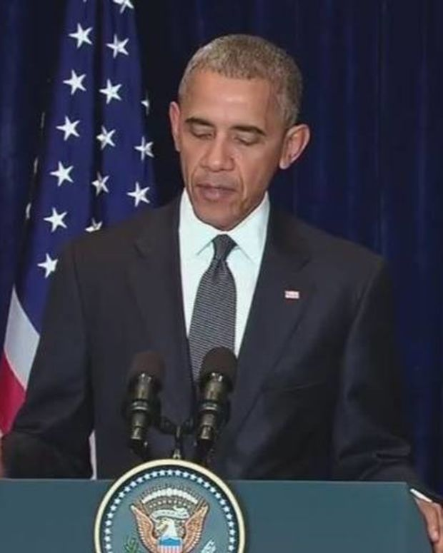Obama's Reaction To Killing Of 5 Dallas Police Officers Promo Image