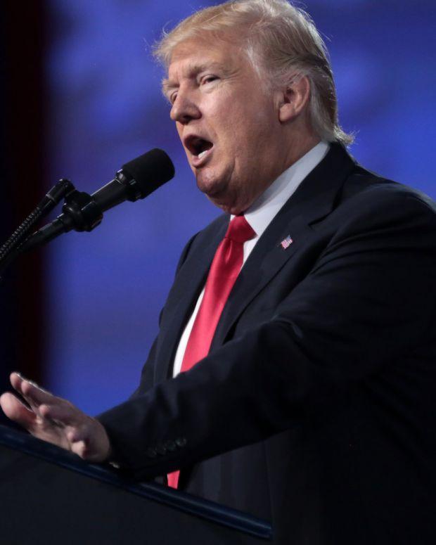 Trump Calls For Government Shutdown In Tweets Promo Image