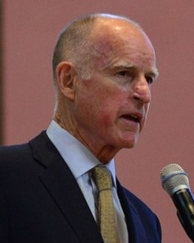 Governor: California Ready To Fight Trump On Climate Promo Image