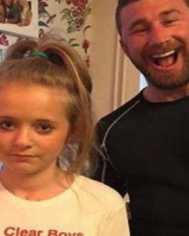 Dad Keeps Boys Away From His Daughter By Making Her Wear This Shirt (Photo) Promo Image