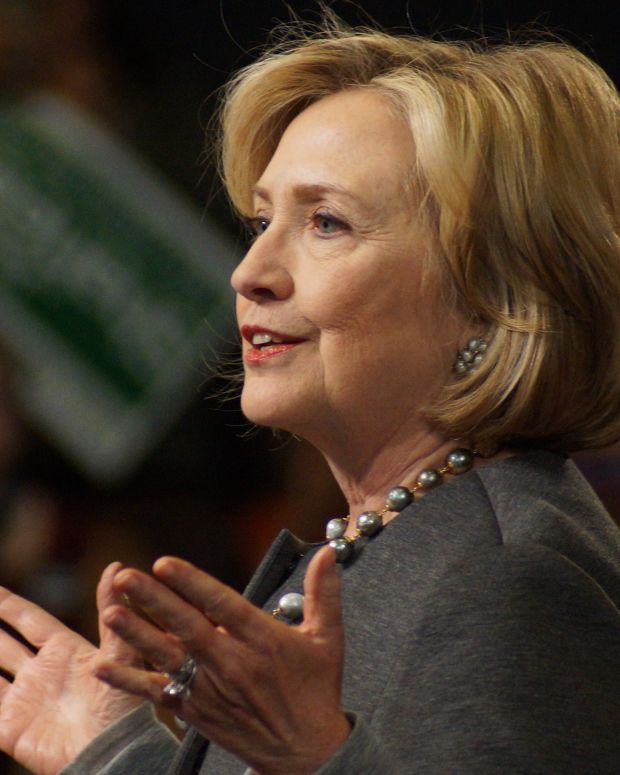 Hillary Clinton: Authoritarianism Is On The Rise Promo Image