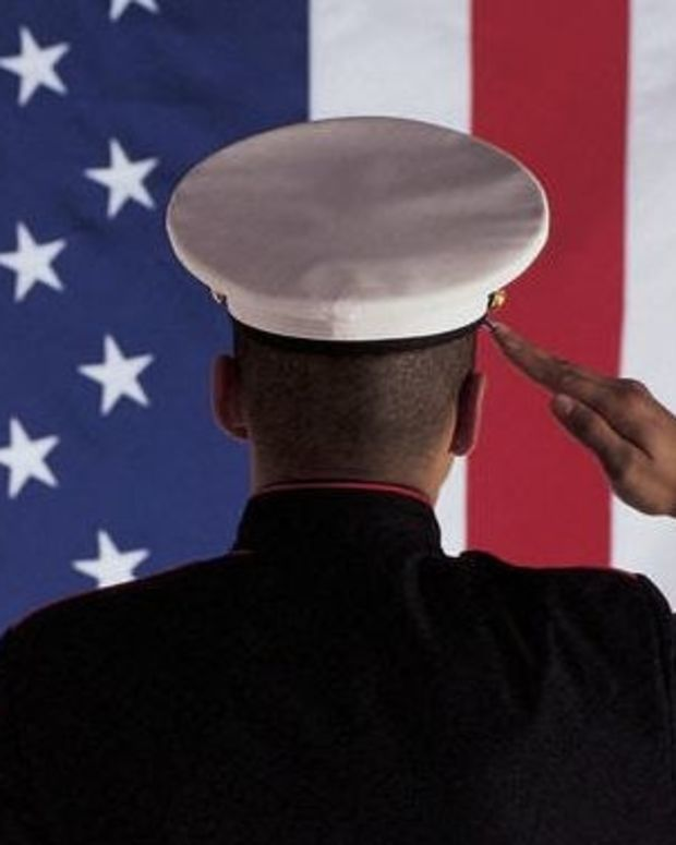 Moving Story Of Marine And Old Man Goes Viral  Promo Image