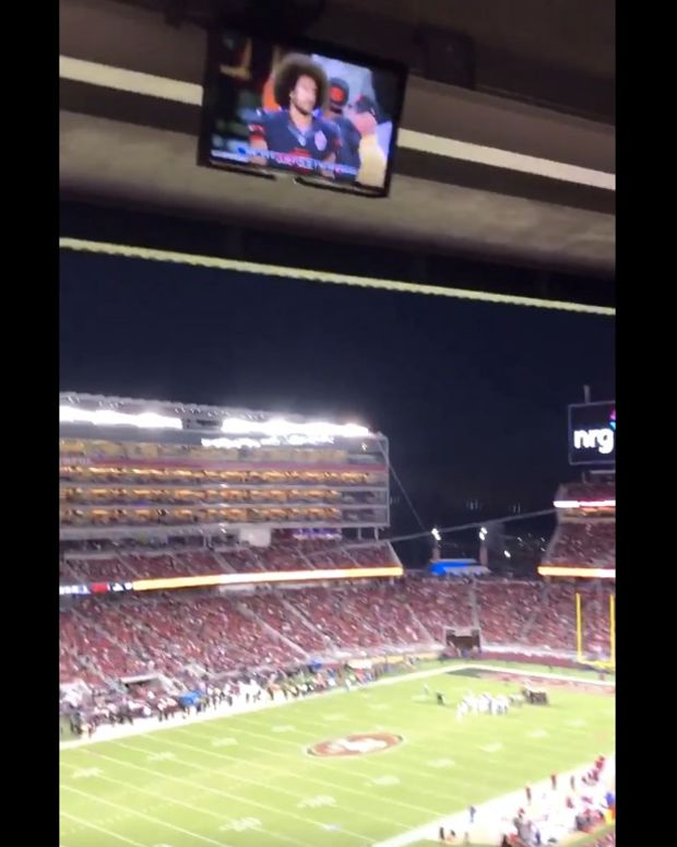 49ers Fans Cheer For Colin Kaepernick To Play (Video) Promo Image