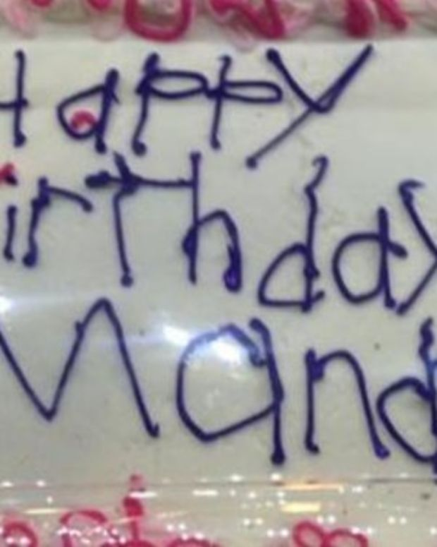 Birthday Cake Goes Viral For Unexpected Reason (Photo) Promo Image