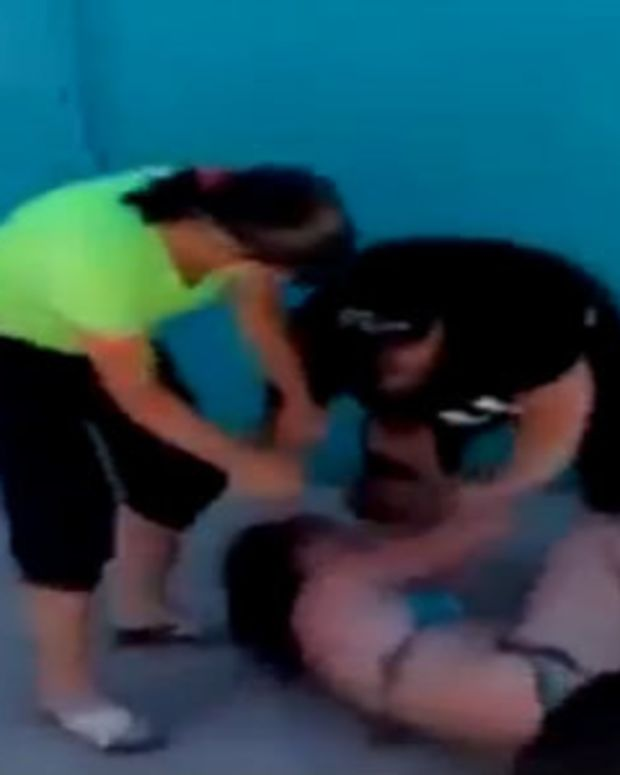 Wives Beat Woman For Affairs With Husbands (Video) Promo Image