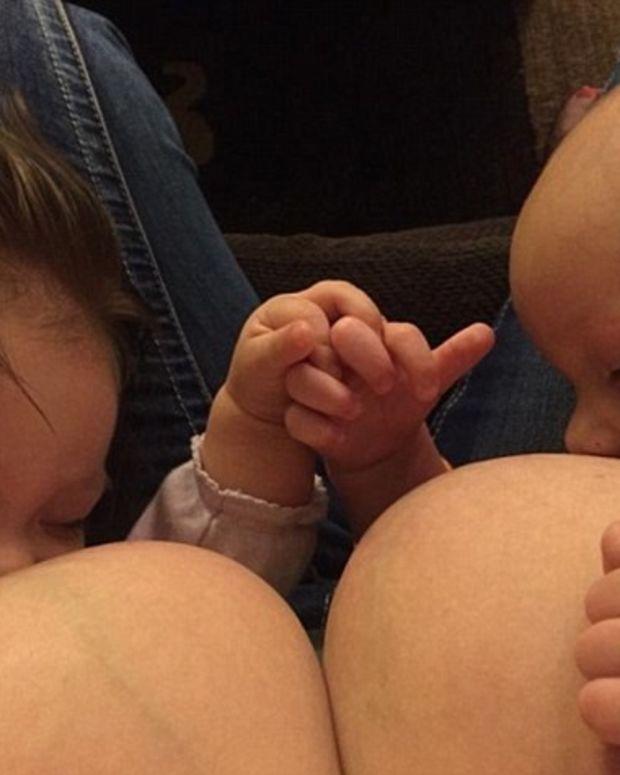 Facebook Deletes Mom's Account Over Breastfeeding Photo (Photos) Promo Image