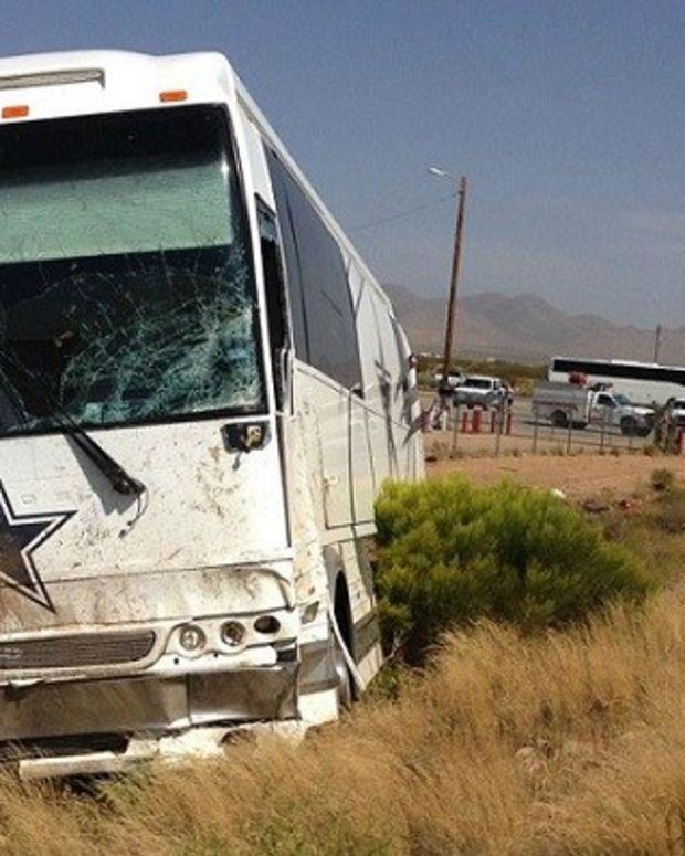 Four Dead After Dallas Cowboys Tour Bus Crash (Photo) Promo Image