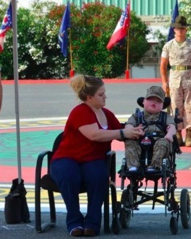 Boy Dies One Day After Becoming Honorary Marine (Photos) Promo Image