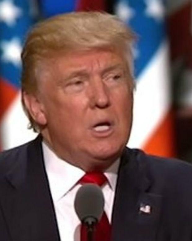 Justice Department Avoids Trump Investigation Talk Promo Image