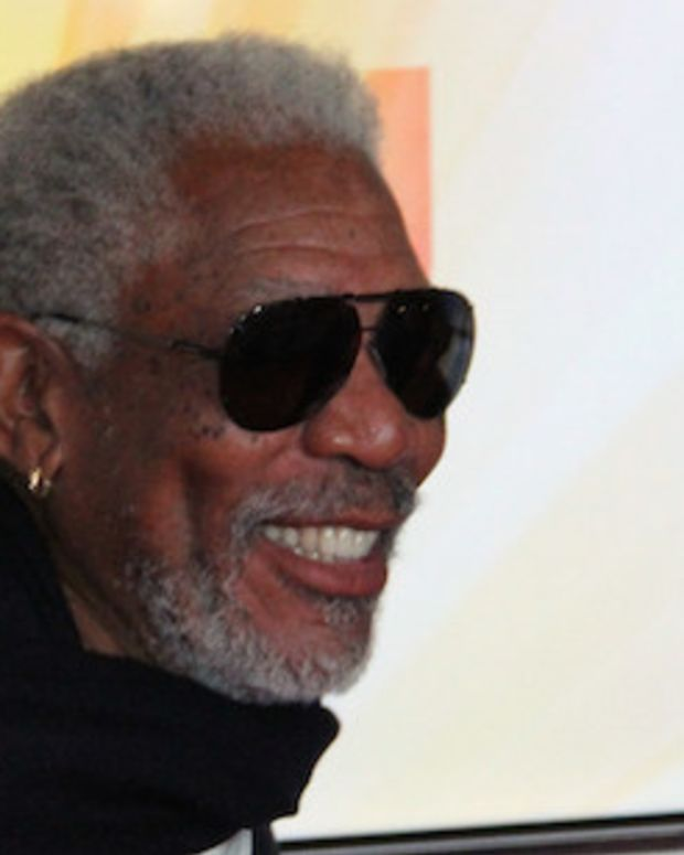 Clinton Supporter Morgan Freeman Optimistic On Trump Promo Image