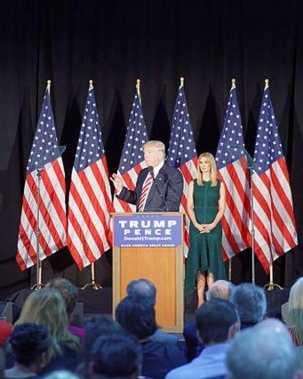 Trump Threatens Lawsuit Over Sexual Assault Report Promo Image