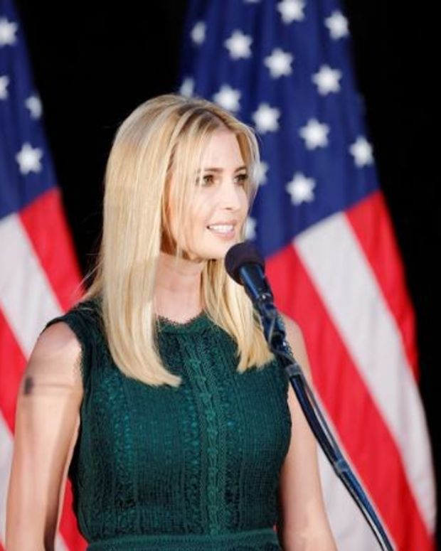 Report: Ivanka Trump Working On Maternity Leave Law Promo Image
