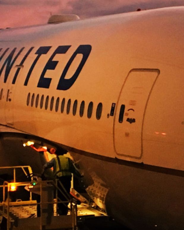Elderly Man Knocked Down By United Employee (Video) Promo Image