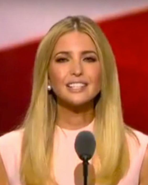 Ivanka Trump Calls For Equal Pay, GOPers Angry (Video) Promo Image
