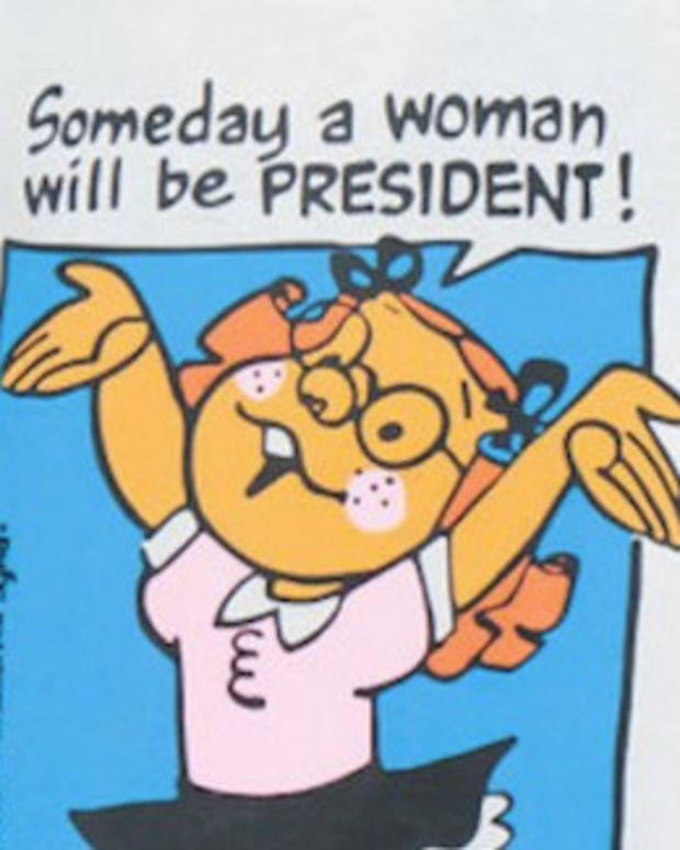 When Wal-Mart Nixed 'Someday A Woman Will Be President' Promo Image