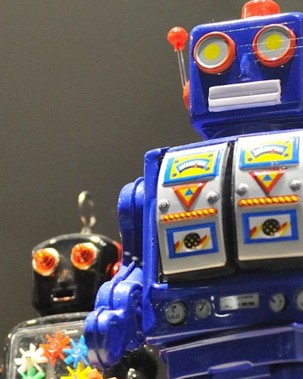 Robot Preacher Beams Light From Hands, Gives Blessings (Video) Promo Image