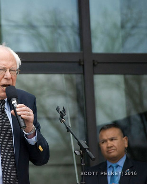 Sanders On Endorsing Clinton: We're Not There Yet (Video) Promo Image
