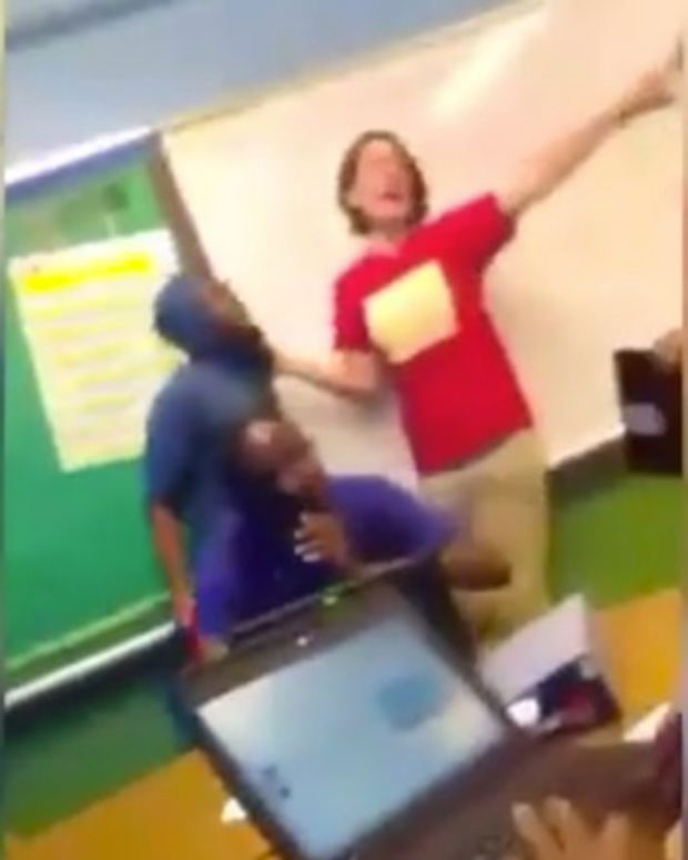 Teacher Calls Students N-Word, Says They'll Be Shot (Video) Promo Image
