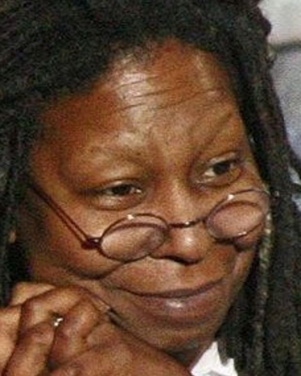 Whoopi Goldberg Tells Trump To 'Grow A Pair' (Video) Promo Image