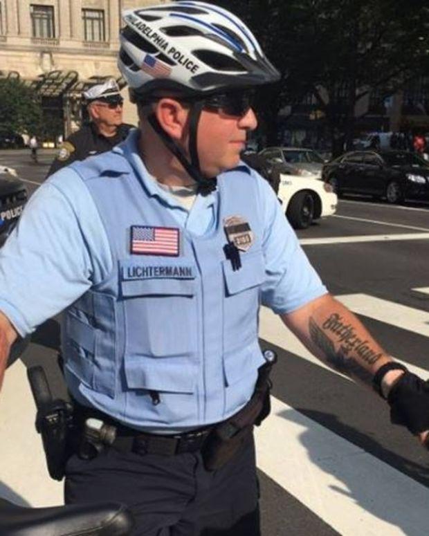 Philadelphia Cop Didn't Break Rules With 'Nazi' Tattoo Promo Image