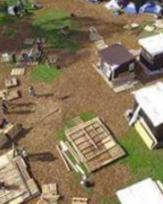 Oakland Boots Drug-Free Homeless Camp, Drug Camp Stays Promo Image