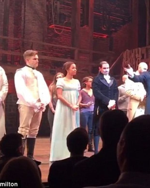 Mike Pence Booed While Attending 'Hamilton' Promo Image