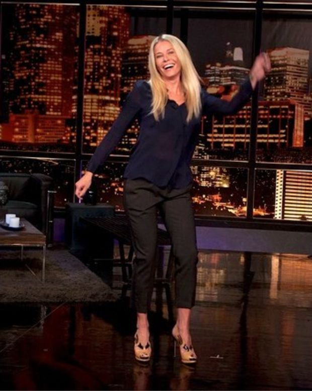 Chelsea Handler Poses With Nordstrom Bags (Photo) Promo Image