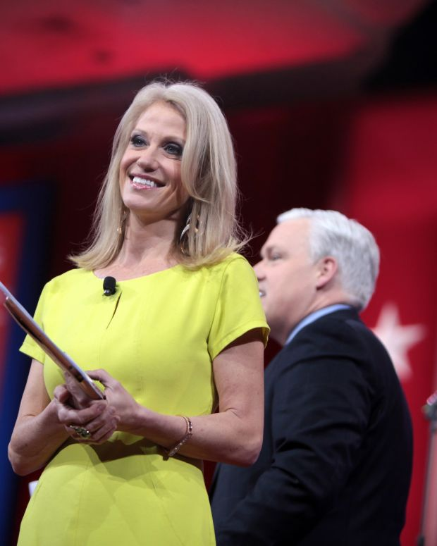 Kellyanne Conway Makes A Huge Mistake (Video) Promo Image