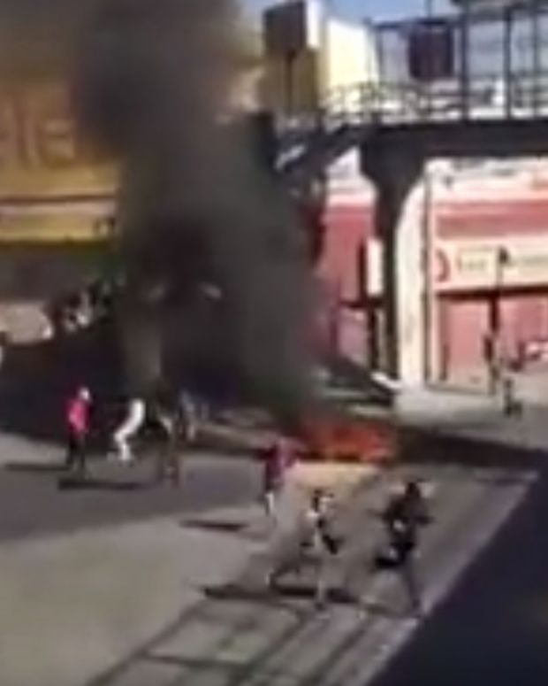Rioting, Looting, Gunfire In Mexico Over Gas Prices (Video) Promo Image