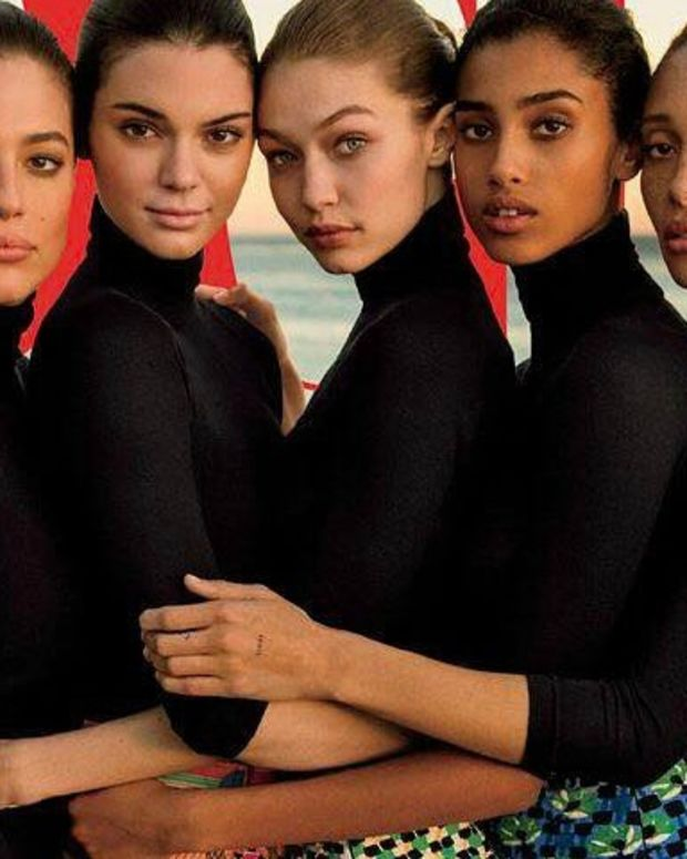 Retouched Vogue Cover Causes Backlash  Promo Image