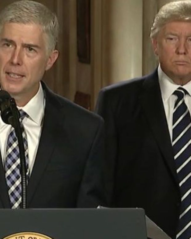 Gorsuch Vows To Stay Independent On Roe V. Wade Promo Image