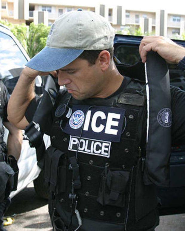 Lawmaker Warns Undocumented Immigrants Of ICE Raid Promo Image