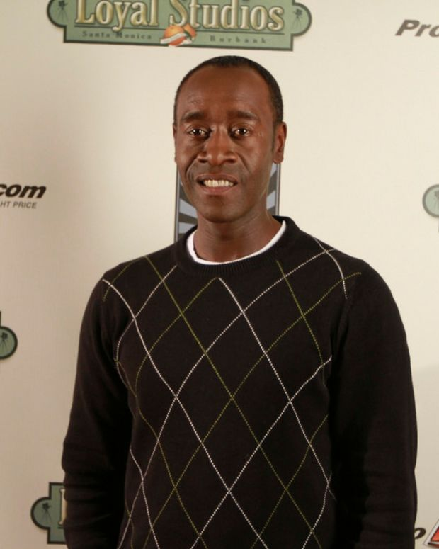 Don Cheadle Accuses President Trump Of Using 'N-Word' Promo Image