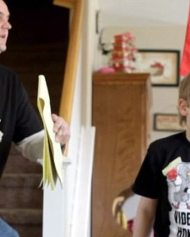 10-Year-Old Boy Shoots His Neo-Nazi Dad In The Head Promo Image