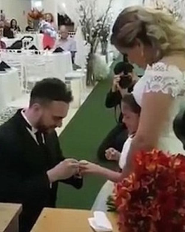 Groom Asks Bride's Child To Be His Daughter For Life (Video) Promo Image