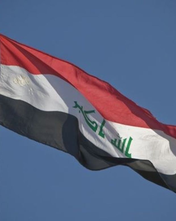 ISIS Fighter Killed While Pulling Out Iraqi Flag (Video) Promo Image
