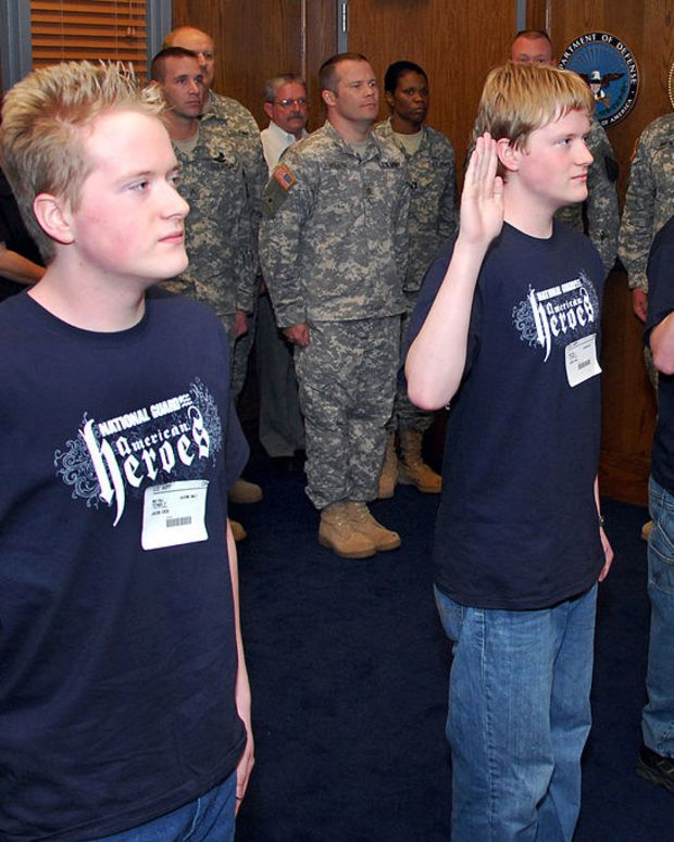 Pentagon Could Help Deport Enlisted Immigrants Promo Image