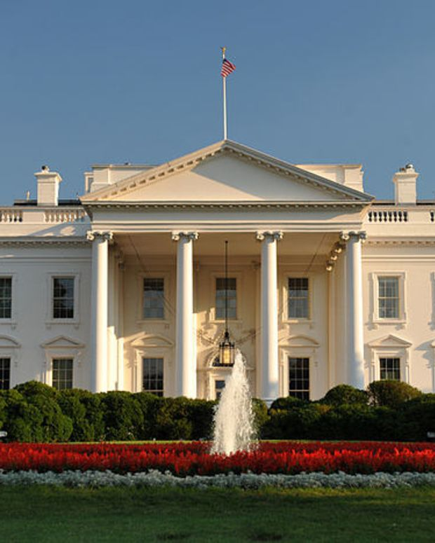 Mysterious Red Lights Flash At White House (Video) Promo Image