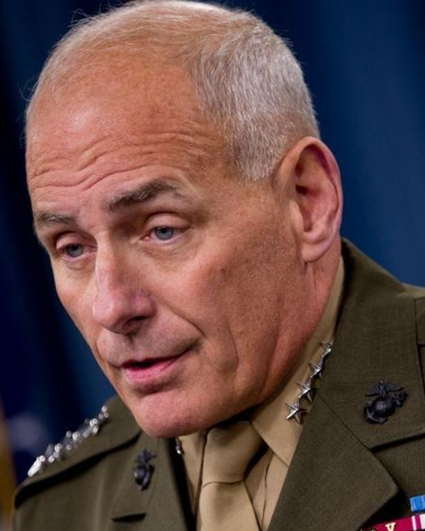 Trump Picks Gen. John Kelly For Homeland Secretary Promo Image