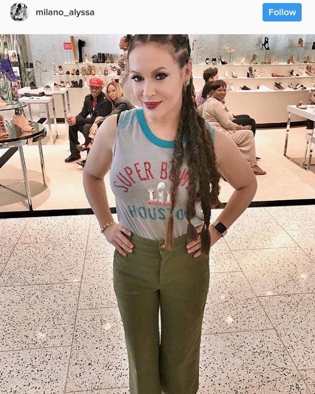 Social Media Users Unhappy With Alyssa Milano's Hair Promo Image