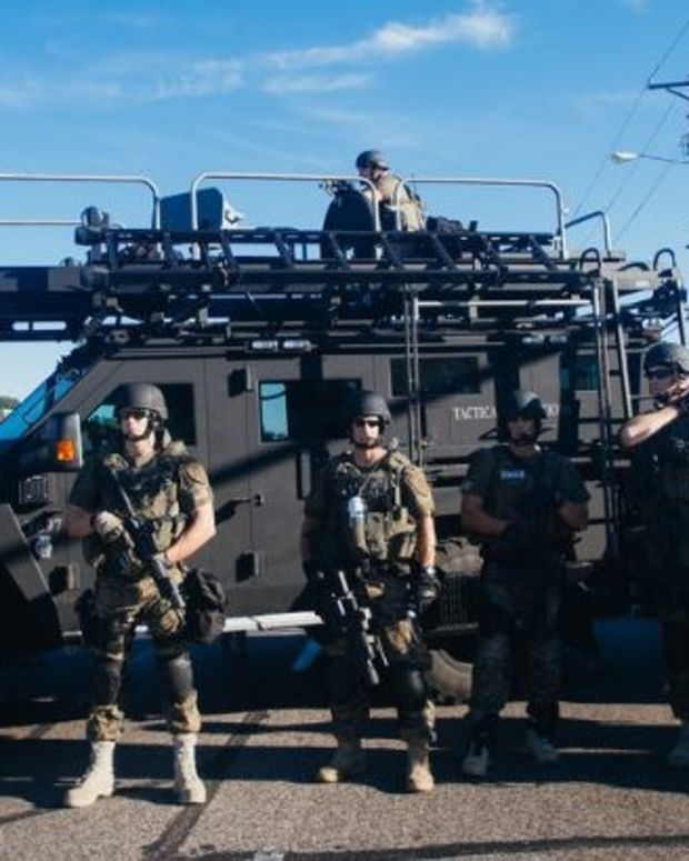 Most Americans Believe Cops Shouldn't Use Military Gear Promo Image