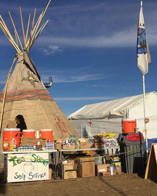 Dakota Access Protesters Face Arrest Or Evacuation Promo Image