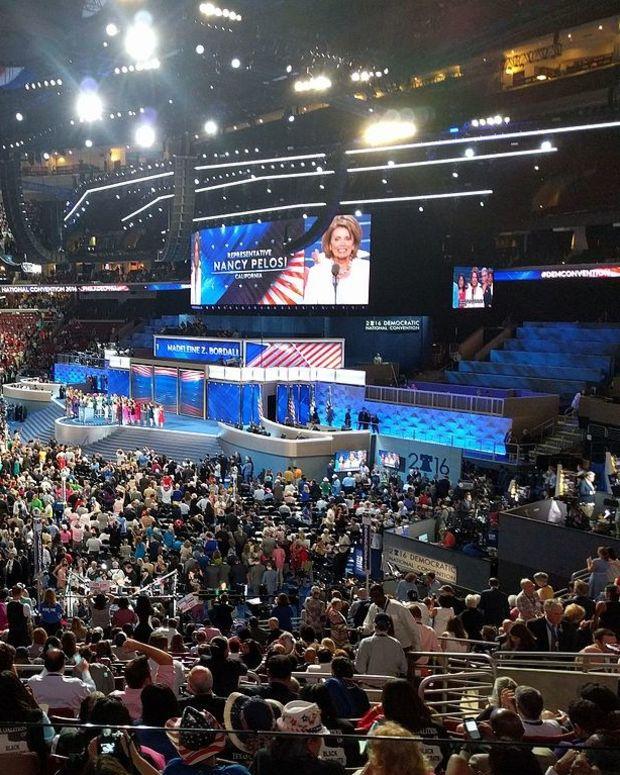 Pelosi Accuses Trump Of Disregarding Constitution Promo Image